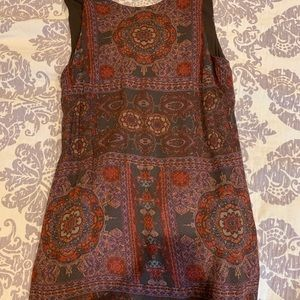 Medium pattern dress